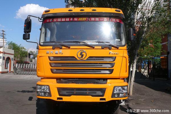 陕汽 德龙F3000重卡 385马力 6X4 自卸车(中长平顶)(SX3255DR384)外观图