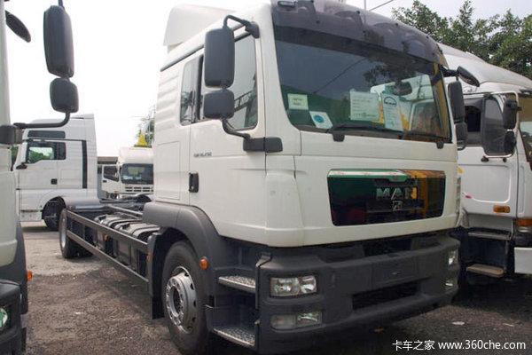 曼(MAN) TGM系列重卡 290马力 4X2 载货车(环保五型)(型号18.290)