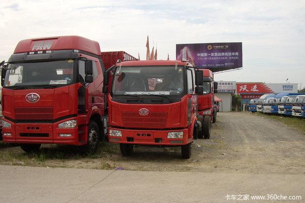 解放 J6L中卡 160马力 4X2 厢式载货车(CA5160XXYP62K1L4A1E)外观图