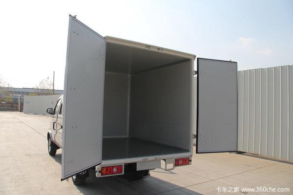 长安神骐 1.0L 62马力 汽油 双排厢式微卡上装图