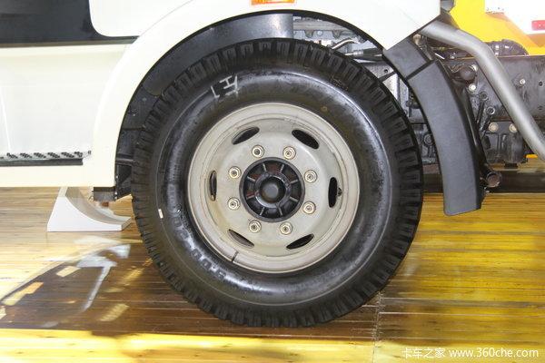 解放 J6L中卡 140马力 4X2 载货车(底盘)(新道依茨)底盘图