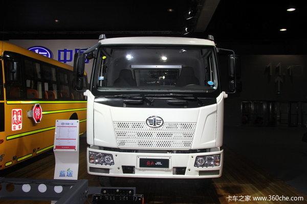 解放 J6L中卡 140马力 4X2 载货车(底盘)(新道依茨)外观图