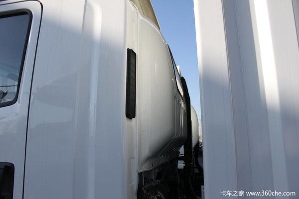 庆铃 700P系列中卡 175马力 4X2 排半厢式载货车(QL5090XTLAR)上装图