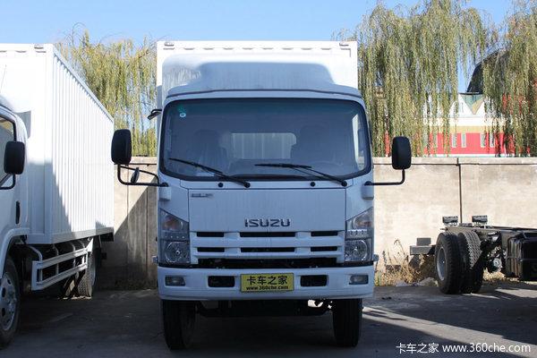 庆铃 700P系列中卡 175马力 4X2 排半厢式载货车(QL5090XTLAR)外观图