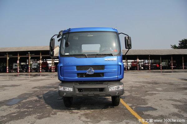 东风柳汽 乘龙中卡 140马力 4X2 仓栅载货车(LZ5081CSLAL)外观图