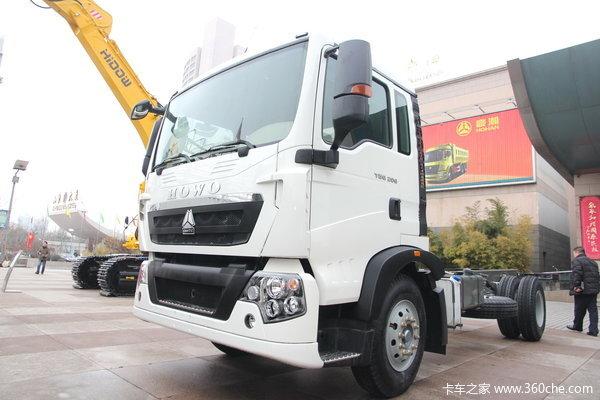 中国重汽 HOWO T5G重卡 210马力 4X2 载货车(底盘)(ZZ1167H451GD2/H6B7M)