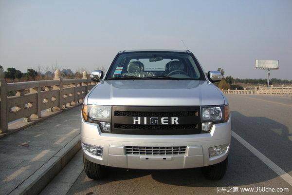 2014款海格 新龙威 经典版 2.8L柴油 四驱 标双排皮卡
