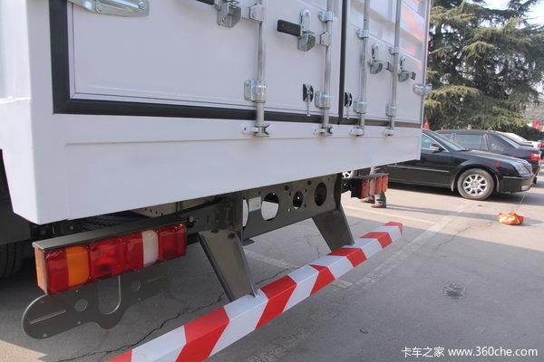 中国重汽 SITRAK C5H重卡 280马力 8X4 厢式载货车(ZZ5316XXYM466GD1)上装图