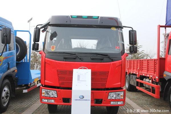 解放 J6L中卡 160马力 4X2 仓栅载货车(CA5160CLXYP62K1L4A2E)外观图