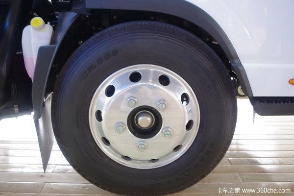 江淮 帅铃N 160马力 4X2 单排厢式载货车(HFC5061XXYP71K1C6)底盘图