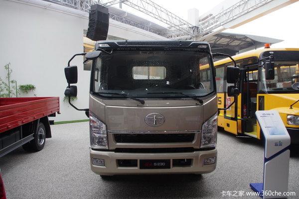 一汽通用 S230公狮 120马力 4X2 5.2米排半栏板载货车