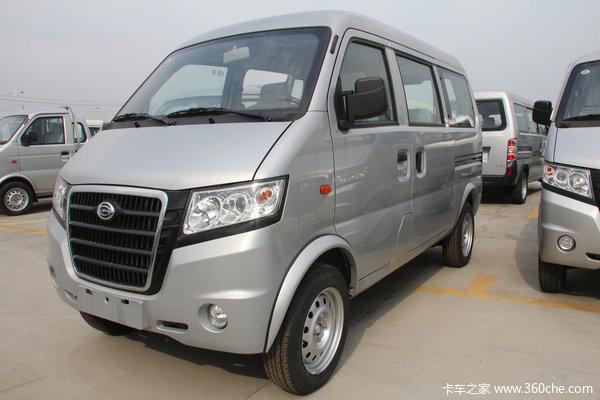 2012款广汽吉奥 星旺 超值版 60马力 1.0L微面