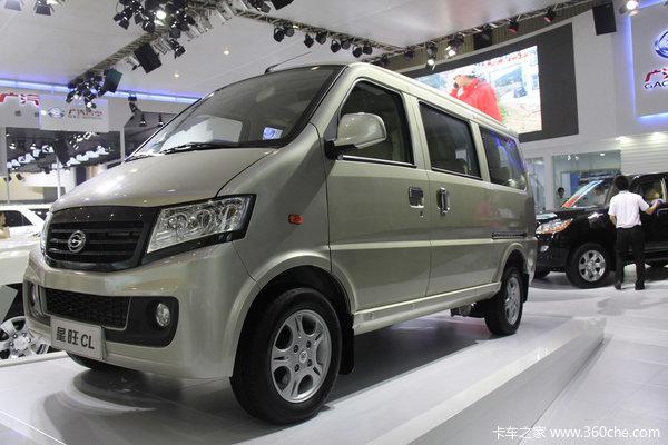 2012款广汽吉奥 星旺CL 标准型 85马力 1.2L微面