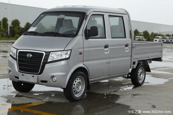 2012款广汽吉奥 星旺M2 豪华型 1.0L 60马力 微卡