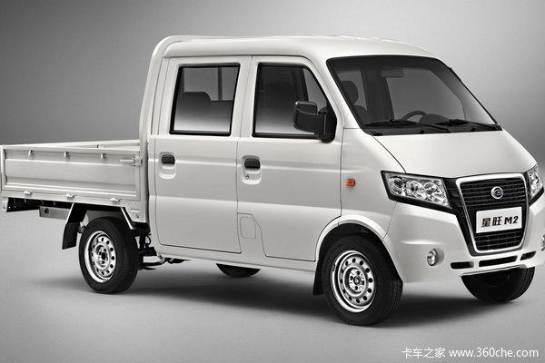 2012款广汽吉奥 星旺M2 精英版 1.0L 60马力 汽油 微卡