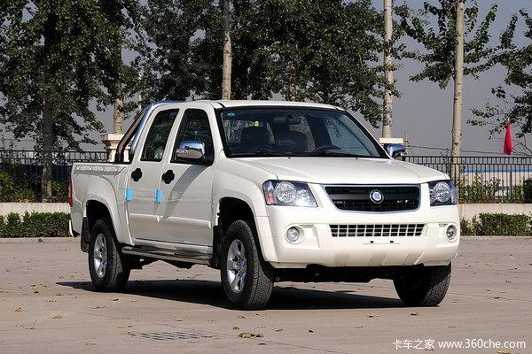 2013款恒天 途腾T2 商务版 2.5L柴油 双排皮卡