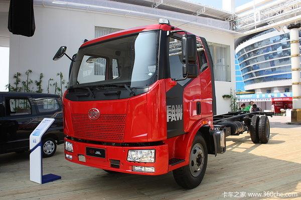 解放 J6L中卡 220马力 4X2 载货车(底盘)(CA1160P62K1L4A3E4)