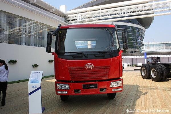解放 J6L中卡 220马力 4X2 载货车(底盘)(CA1160P62K1L4A3E4)外观图
