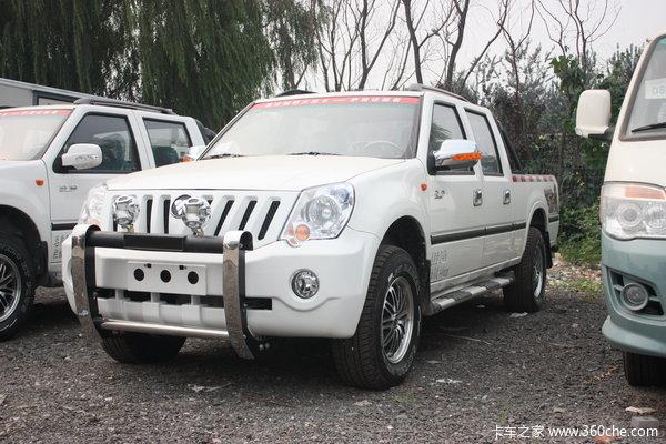 福田 萨普Z6 征服者 2.2L汽油 103马力 四驱 双排皮卡(舒适版)