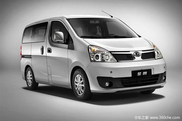 2013款广汽吉奥 星朗 至尊型 113力 1.5LMPV