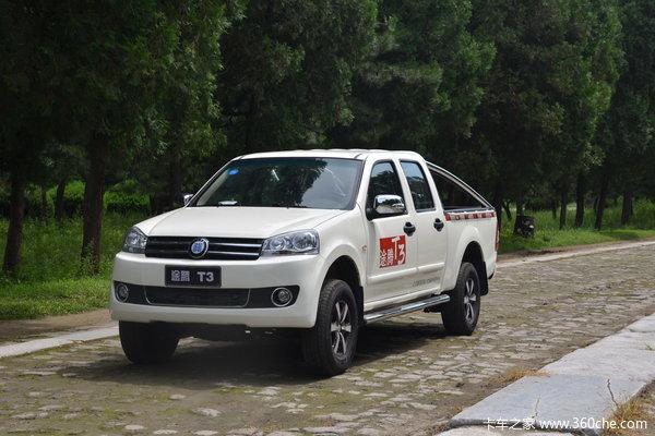 2013款恒天 途腾T3 商务版 2.5L柴油 双排皮卡