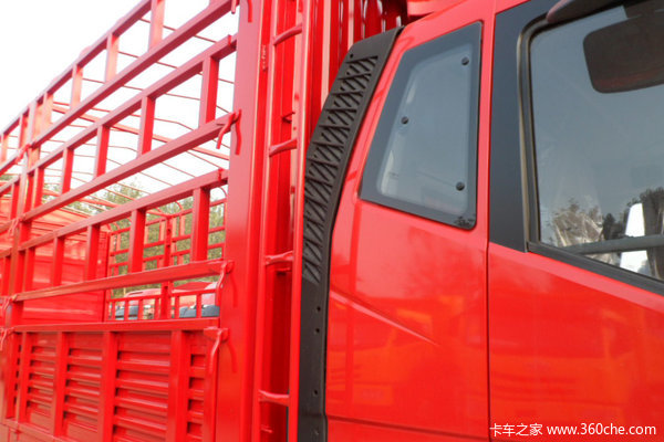 解放 J6L中卡 140马力 4X2 仓栅载货车(CA5160CCYP62K1L3E4)上装图