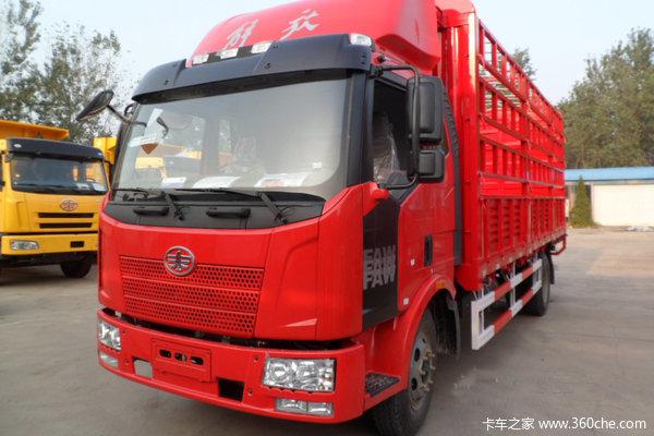 解放 J6L中卡 140马力 4X2 仓栅载货车(CA5160CCYP62K1L3E4)