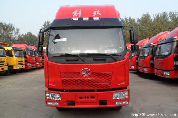 解放 J6L中卡 140马力 4X2 仓栅载货车(CA5160CCYP62K1L3E4)外观图