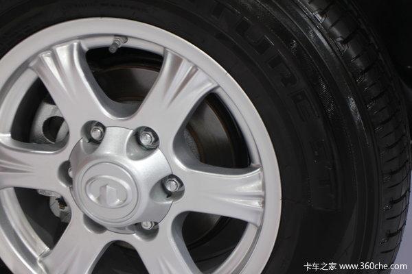 2013款长城 风骏5欧洲版 精英型 2.0L柴油 四驱 大双排皮卡底盘图
