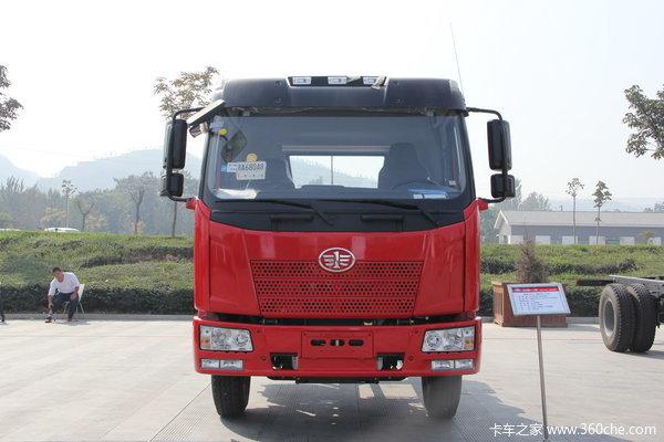 解放 J6L中卡 160马力 4X2 栏板载货车(CA1160P62K1L3E)外观图