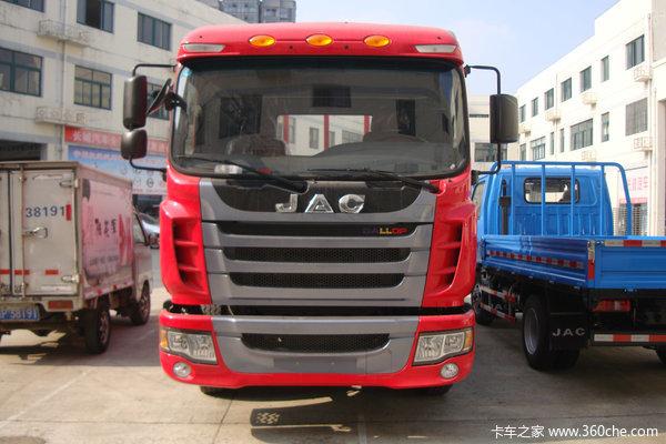 江淮 格尔发K3系列中卡 130马力 4X2 栏板载货车(HFC1101KR1ZT)外观图