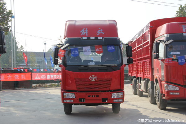 解放 J6L中卡 160马力 4X2 载货车底盘(CA1160P62K1L3E4)外观图