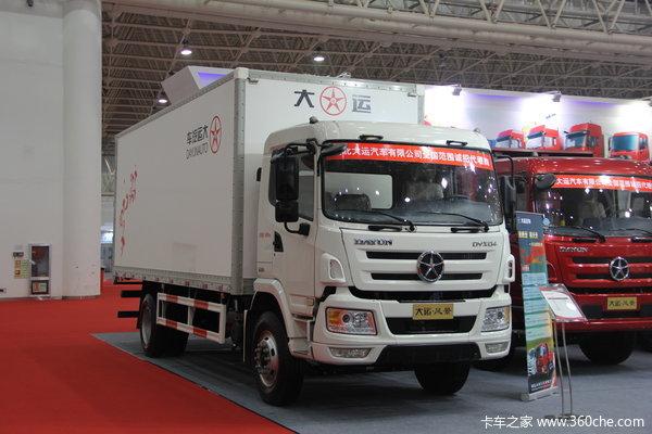 2013款大運 風景中卡 160馬力 4X2 廂式載貨車