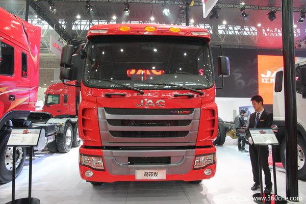 江淮 格尔发K3系列中卡 165马力 4X2 栏板载货车(HFC1161K2R1HT)外观图