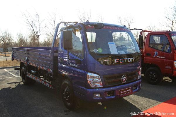 福田 奥铃捷运 129马力 4X2 5.15米单排栏板载货车(BJ1099VEJEA-2)