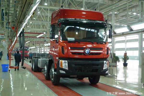 重汽王牌 8X4 载货车底盘(代号012)