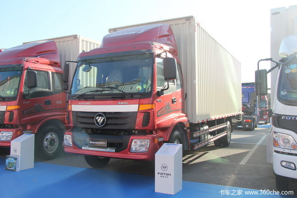 福田 欧马可5系 168马力 4X2 厢式载货车(BJ5169XXY-F1)