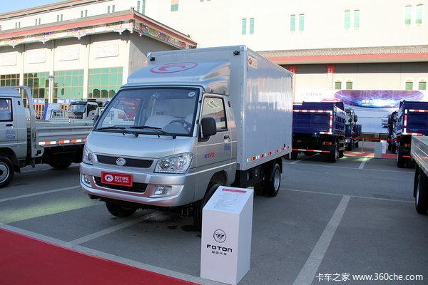 时代 驭菱VQ5 2.0L 122马力 汽油 双排厢式微卡