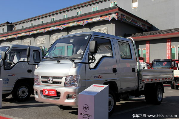 时代 驭菱VQ2 2.0L 122马力 汽油 双排栏板微卡