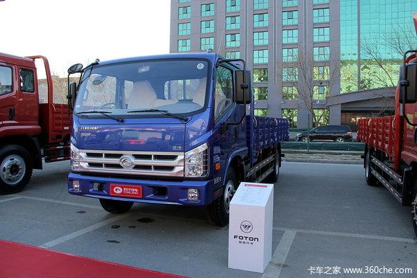 时代 康瑞中卡 129马力 4X2 排半载货车(BJ1093VEPFG-A1)