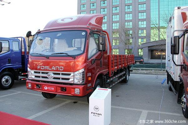 时代 康瑞中卡 154马力 4X2 排半载货车(BJ1093VEPEG-V6)