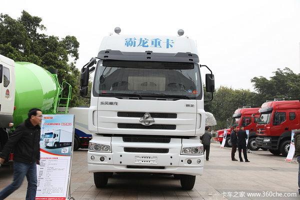 东风柳汽 霸龙M5重卡 315马力 8X4 厢式载货车(LZ5240XXYM5FA)