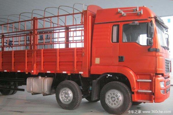 陕汽宝华 轩德中卡 240马力 6X2 仓栅载货车(SX5250GP3)