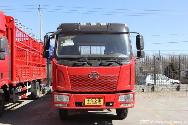 解放 J6L中卡 160马力 4X2 栏板载货车(CA1160P62K1L4E4)外观图