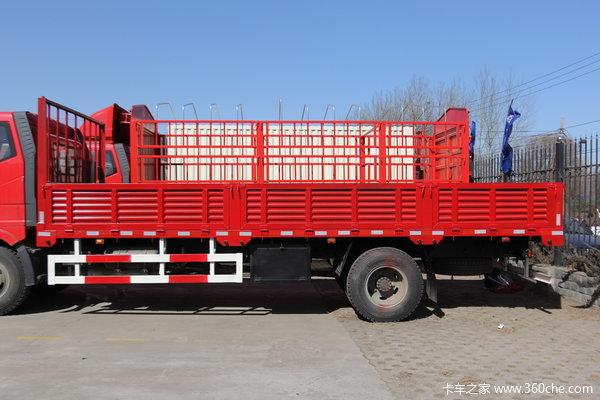 解放 J6L中卡 160马力 4X2 栏板载货车(CA1160P62K1L4E4)上装图