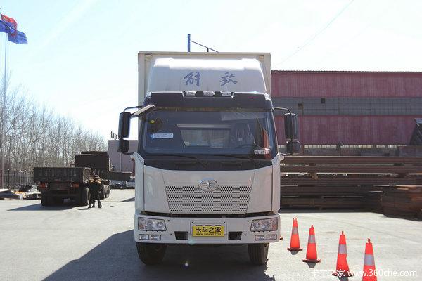 解放 J6L中卡 180马力 4X2 厢式载货车(CA5160XXYP62K1L5A1E4)外观图