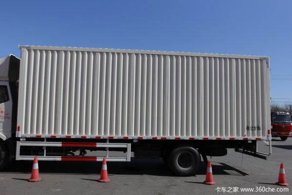 解放 J6L中卡 180马力 4X2 厢式载货车(CA5160XXYP62K1L5A1E4)上装图