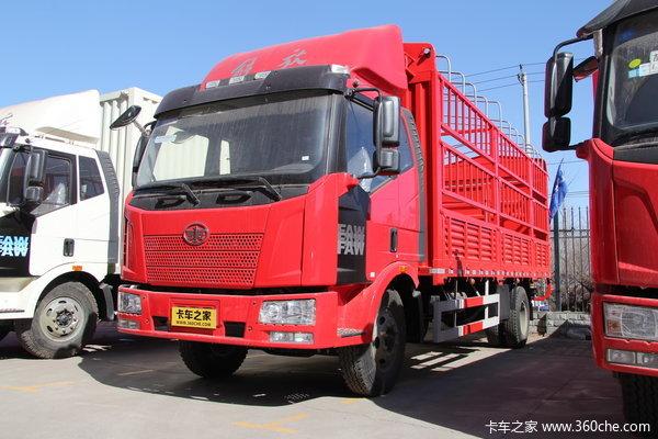 解放 J6L中卡 180马力 4X2 仓栅载货车(CA5160CCYP62K1L3A2E4)