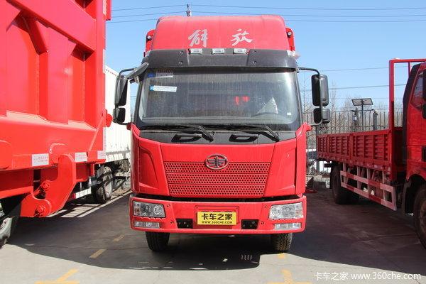 解放 J6L中卡 160马力 4X2 仓栅载货车(CA1160P62K1L4E4)外观图