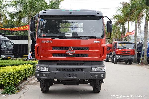 东风柳汽 霸龙重卡 320马力 8X4 排半载货车(底盘)(LZ1240M5FAT)外观图